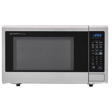 Carousel 1.4 Cu. Ft. 1000W Countertop Microwave Oven With Popcorn Preset