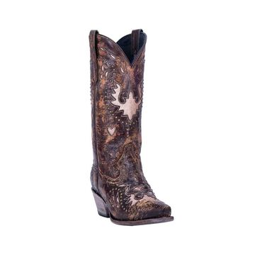 Dan Post Western Boots Womens Mousse 12