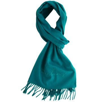 Burberry Blue Cashmere Scarves