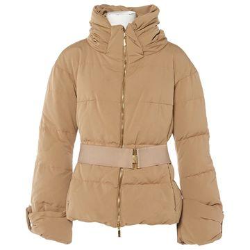 Moncler Beige Polyester Coats