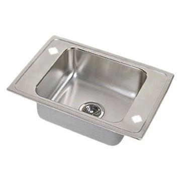 Elkay DRKR22202LM Top Mount Classroom Single Bowl Sink