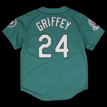 Mitchell & Ness MLB Authentic Collection Basketball Jersey - Seattle Mariners - Teal