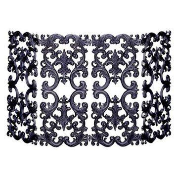Uniflame 4-Fold Bronze Cast Aluminum Screen