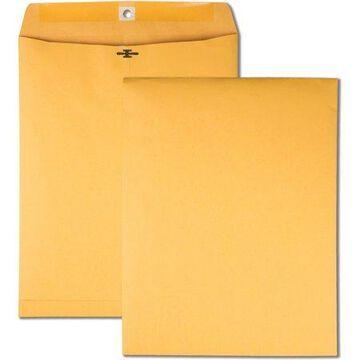 Quality Park High Bulk 10x13 Kraft Clasp Envelopes, 100/Box