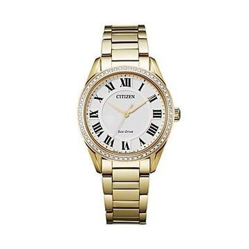 Citizen Eco Drive Arezzo Diamond Watch, 32mm