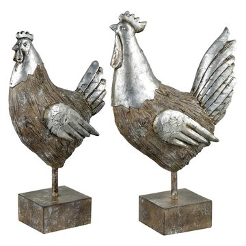 Pomeroy Avery Hill 2-piece Chicken Table Decor