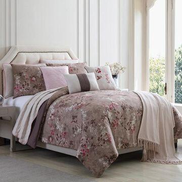 Amrapur Overseas Chloe 10-Piece Comforter and Coverlet Set