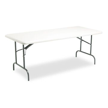 Iceberg IndestrucTables Too 1200 Series Resin Folding Table 72w x 30d x 29h