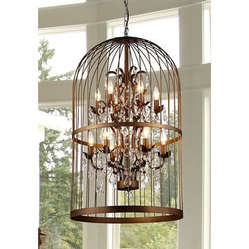 Warehouse of Tiffany Rinee II Cage Chandelier