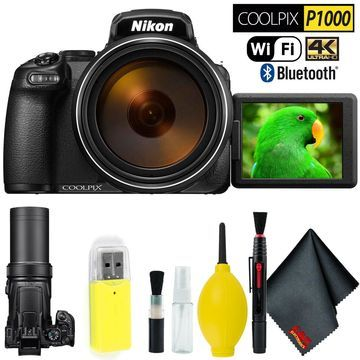 Nikon COOLPIX P1000 Digital Camera Bundle Intl Model
