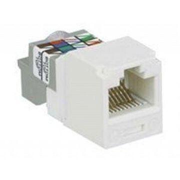 Panduit MINI-COM TX6 Plus - Modular insert - black - 1 port (CJ688TPBL