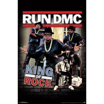 Trends International RUN DMC King of Rock Wall Poster 22.375