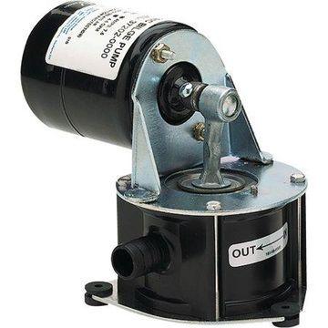 Jabsco 37202-0000 Self Priming 12V Light Duty 4.5 GPM Diaphragm Bilge Pump