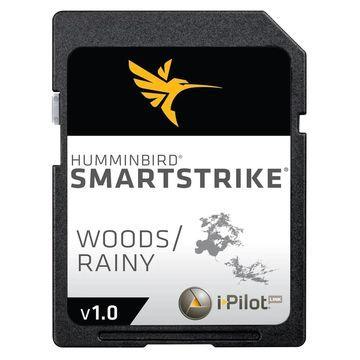 Humminbird 600042-1 SmartStrike Woods/Rainy Map Card w/ Shallow Water Highlight