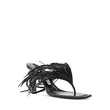 Alexander Wang Women's Ivy 85 Embellished High Heel Sandals