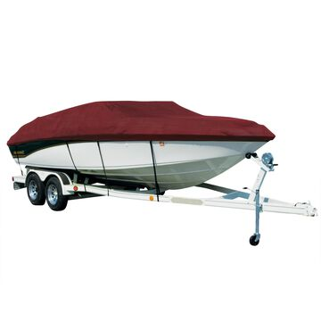 Covermate Sharkskin Plus Exact-Fit Cover for Zodiac Yl 420 Dl Yl 420 Dl O/B. Burgundy