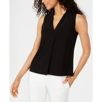 Kasper V-Neck Top