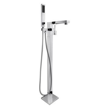 AKDY Freestanding Brass Chrome Finish Handheld Wand With Bathtub Filler