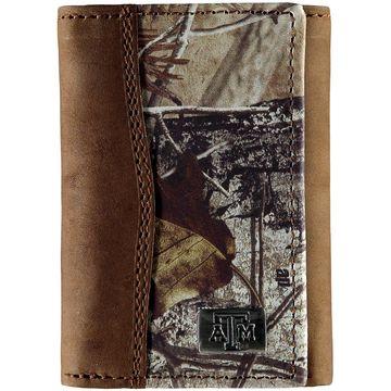 Texas A&M Aggies Tri-Fold Camo Wallet
