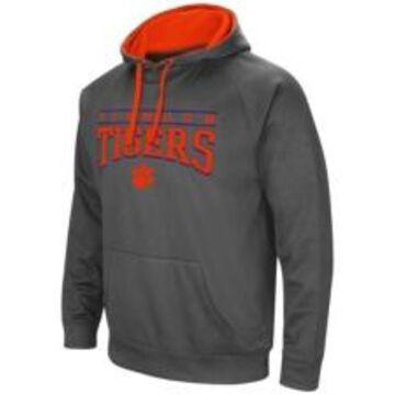 Colosseum Clemson Tigers Men's Poly Performance Hooded Sweatshirt