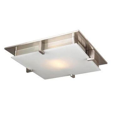 PLC Lighting 904SNLED Plc 1 Light Ceiling Light Polipo Collection 904S