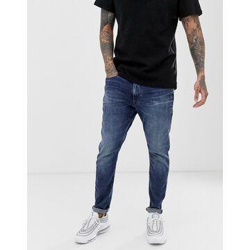 G-Star D-Staq 3D slim fit jeans in medium aged-Blue