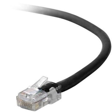 Belkin - Patch cable - RJ-45 (M) - RJ-45 (M) - 5 ft - UTP - CAT 5e - black - B2B - for Omniview SMB 1x16, SMB 1x8, OmniView IP 5000HQ, OmniView SMB CAT5 KVM Switch