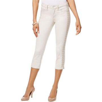 NYDJ Womens Alina Tummy Control Cropped Jeans