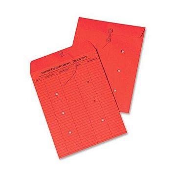 Quality Park, QUA63574, Inter-Department Colored Envelopes, 100 / Box, Red
