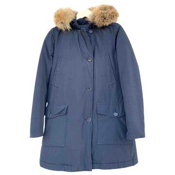 Woolrich \N Navy Cotton Coats