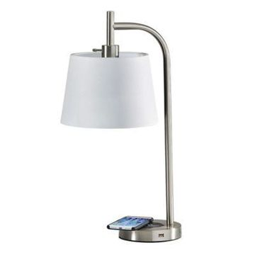 Adesso Table Lamp in White