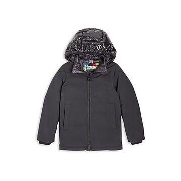 Herno Boys' Hooded Woven Down Jacket - Big Kid