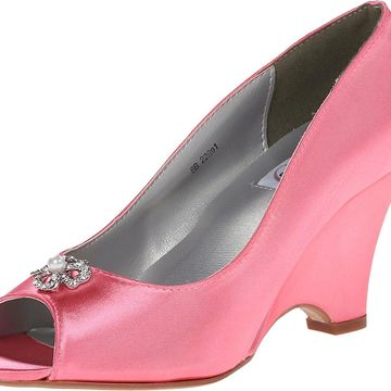 Dyeables Womens Minka, Coral, Size 10.0