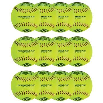 Franklin Sports 12 Fastpitch Softballs