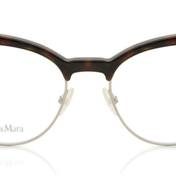 Max Mara MM 1271 USO Womenas Glasses Gold Size 50 - Free Lenses - HSA/FSA Insurance - Blue Light Block Available