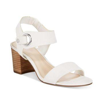 Bar III Womens Birdie2 Open Toe Casual Slingback Sandals