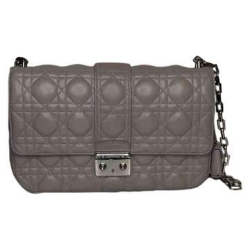 Dior Miss Dior Beige Leather Handbags