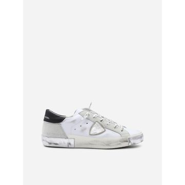 Philippe Model Paris X Sneakers In Leather