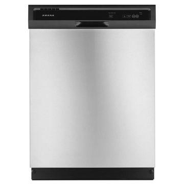 Amana 63-Decibel Front Control 24-in Built-In Dishwasher (Stainless Steel) ENERGY STAR