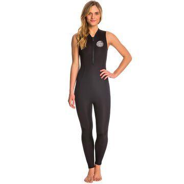 Rip Curl Women's 1.5mm G-Bomb Chest Zip Long Jane Wetsuit