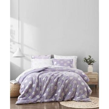 Material Girl Metallic Dot Queen 7 Piece Bed in a Bag Bedding