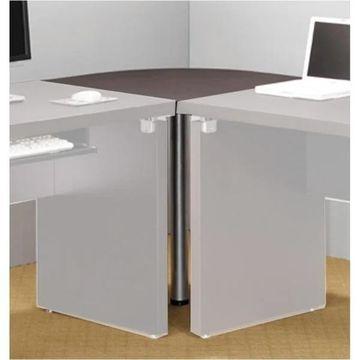 Coaster Company Cappuccino Corner Table