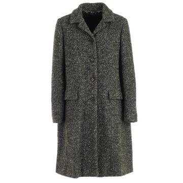 Aspesi Coat Single Breasted Wool