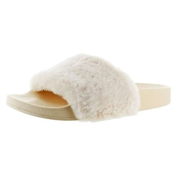 Not Rated Furby Women's Faux Fur Slide Sandal Shoes