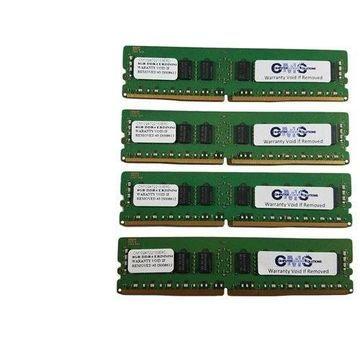 64Gb (4X16Gb) Memory Ram For Precision Rack/Tower 7910 (T7910) Ecc Register By CMS B102