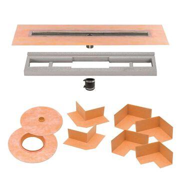 Schluter Systems Kerdi-Line Stainless Steel Shower Drain   KL1V60E130