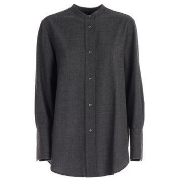 Aspesi Shirt L/s Rounded Bottom Flannel