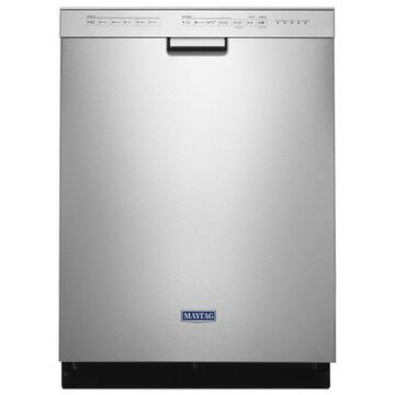 Maytag 50-Decibel and Hard Food Disposer Built-In Dishwasher (Fingerprint-Resistant Stainless Steel) (Common: 24 Inch; Actual: 23.875-in) ENERGY STAR