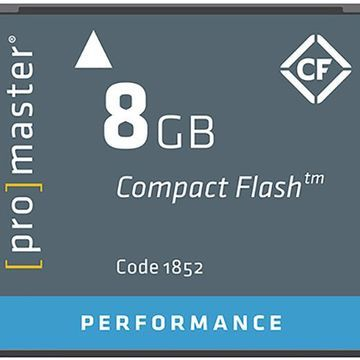 ProMaster Performance 8GB Compact Flash Memory Card