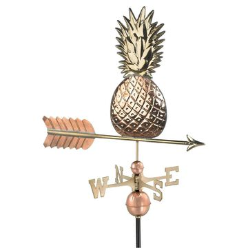 Pineapple Pure Copper Weathervane by Good Directions (Weather Vane - Metal - Copper - Assembled)